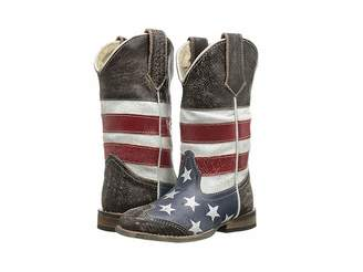 Roper American Flag Square Toe Boot (Toddler/Little Kid)