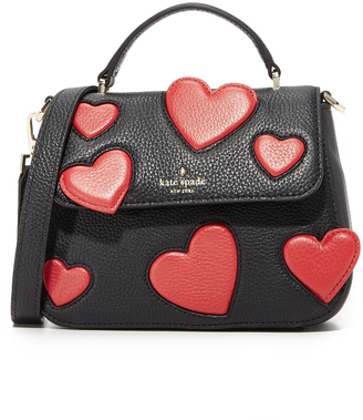 Kate Spade New York Small Heart Alexya Bag $298 thestylecure.com