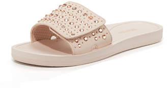 MICHAEL Michael Kors MK Crystal Pool Slide Sandals