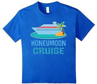 Honeymoon Cruise Ship Newlyweds Gift T-shirt Tee