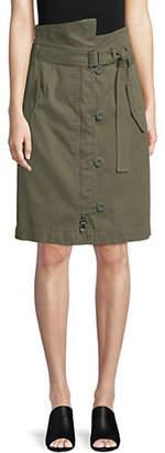 Max Mara Vitrus Stretch Cotton Skirt