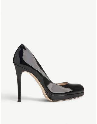 LK Bennett Sledge patent-leather court shoes