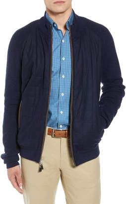 Peter Millar Quilted Zip Jacket