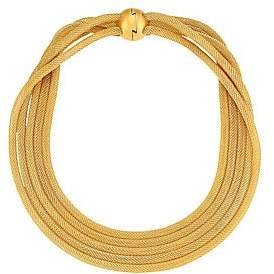 Dean Davidson Women's 22K Gold-Plated Brass 5-Strand Mesh Necklace