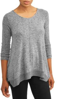 Thyme + Honey Women's Extra Soft Loose Cardigan