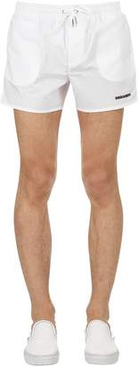 DSQUARED2 Underwear Icon Printed Nylon Swim Shorts