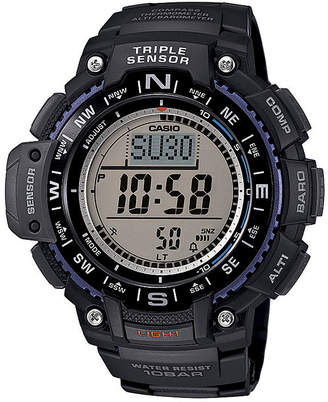 Casio Triple Sensor Mens Black Resin Strap Digital Sport Watch SGW1000-1A