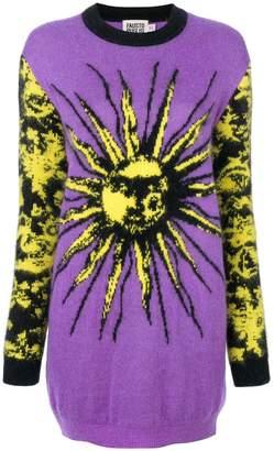 Fausto Puglisi sun intarsia knit dress