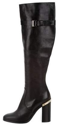 Reed Krakoff Leather Round-Toe Boots