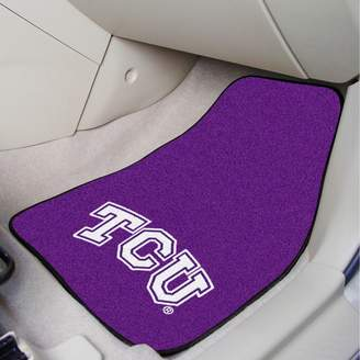 Fanmats FANMATS TCU Horned Frogs 2-Pack Carpeted Car Mats