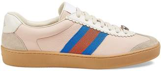 Gucci Women's Leather & Suede Sneakers