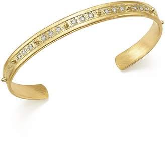 Armenta 18K Yellow Gold Sueno Diamond Cuff