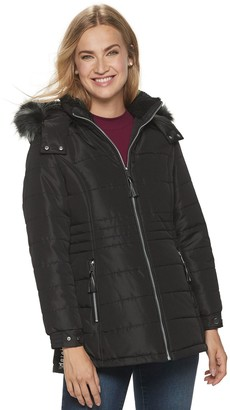 Details Women's Hooded Puffer Jacket