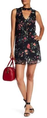 A. Byer Printed Gigi Dress with Necklace (Junior) $69 thestylecure.com