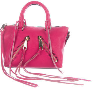 Rebecca Minkoff Mini Leather Satchel $110 thestylecure.com