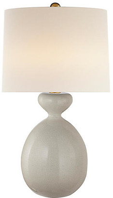 AERIN Gannet Table Lamp - Bone Craquelure
