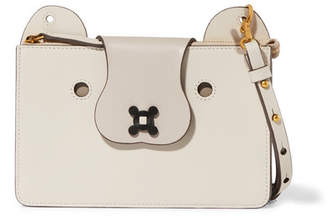 Anya Hindmarch Husky Leather Shoulder Bag - Cream