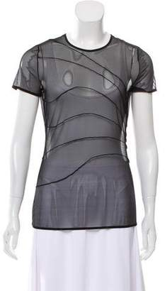 Wolford Mesh Short Sleeve T Shirt w/ Tags