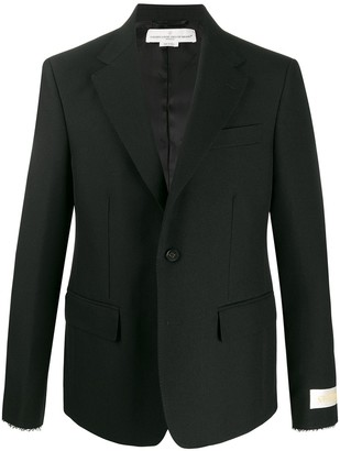 double button blazer