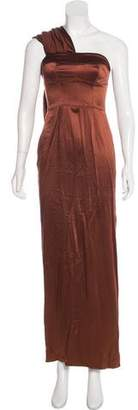 Amanda Wakeley Silk Maxi Dress