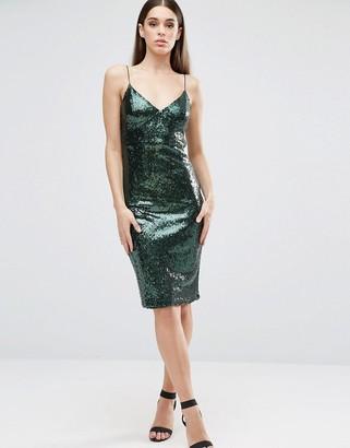 Club L Cami Sequin Midi Dress $43 thestylecure.com