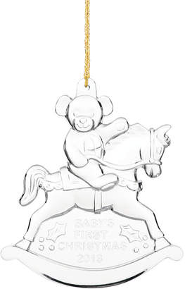 Marquis by Waterford Christmas Ornament, 2013 Annual Baby's First Christmas