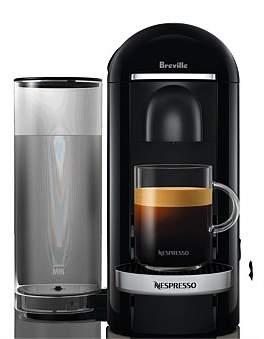Breville Nespresso Bnv420Blk Vertuo Plus Black Deluxe