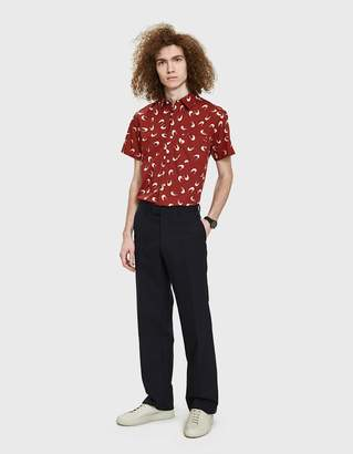A.P.C. Cippi Short-Sleeve Shirt in Red