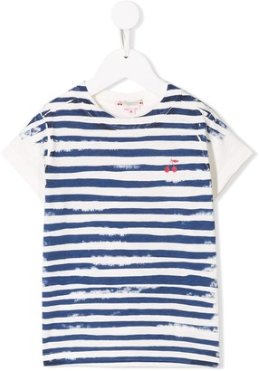 Bonpoint classic T-shirt with stripes