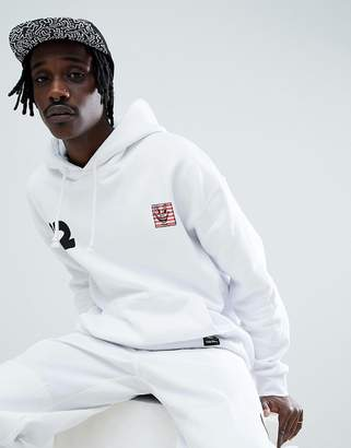 Element x Keith Haring hoodie in white