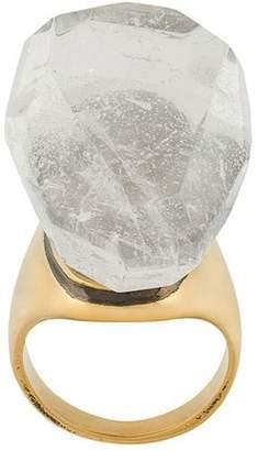 Alexander McQueen ice stone ring