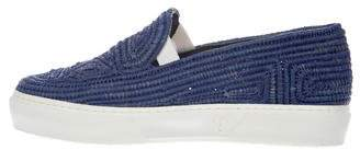 Robert Clergerie Woven Slip-On Sneakers