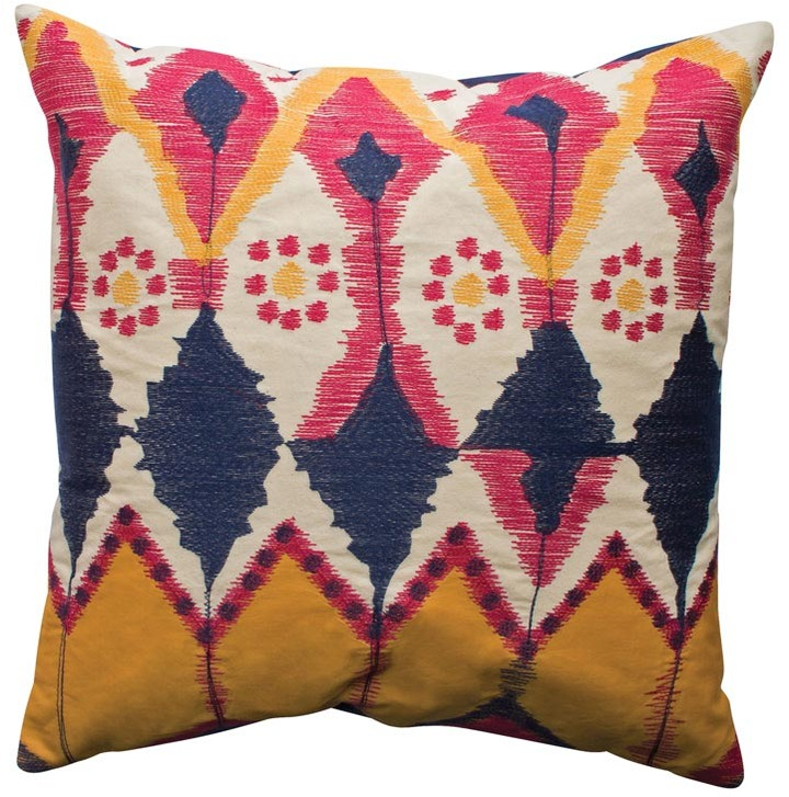 Koko - Java 20x20 Ikat Pillow