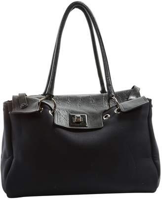 Giorgio Armani Black Rubber Handbag