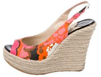 Jimmy Choo Polar Espadrille Wedges w/ Tags