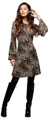 Mela London - Multicoloured Leopard Print  Husna  Mini Tunic Dress b07087224