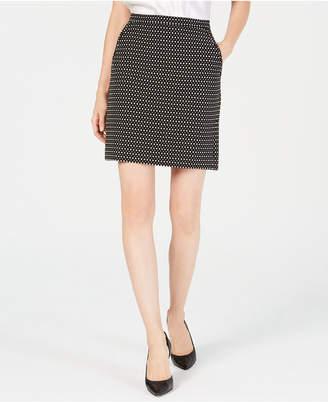 Anne Klein Jacquard Skirt