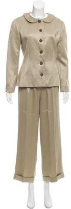 Givenchy Vintage Twill Pantsuit