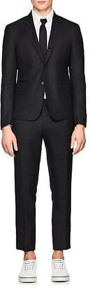 Thom Browne Men's High-Armhole Wool Three-Button Suit
