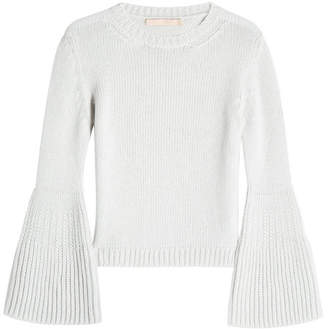 Brock Collection Cashmere Pullover with Bell Sleeves