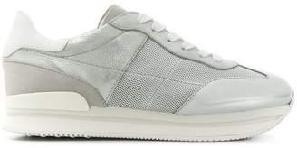 Hogan perforated panel sneakers