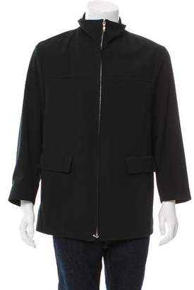 Canali Lightweight Zip-Up Jacket