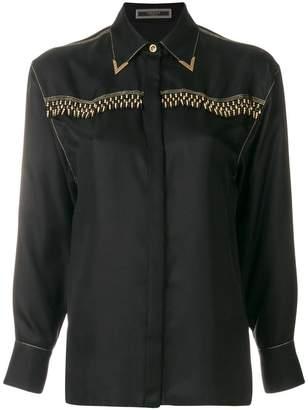 Versace beaded shirt