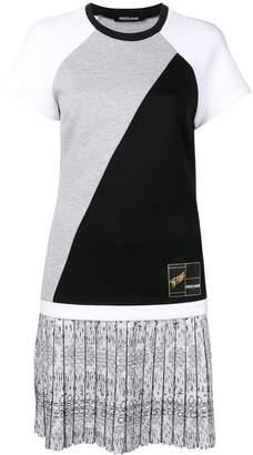 Roberto Cavalli short panelled dress