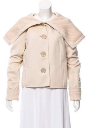 Oscar de la Renta Orylag & Wool Jacket