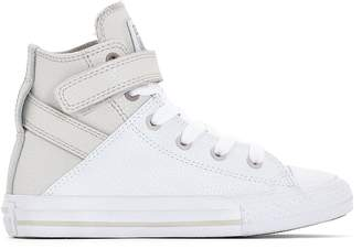Converse CTAS Brea Fashion Leather Hi High Top Trainers