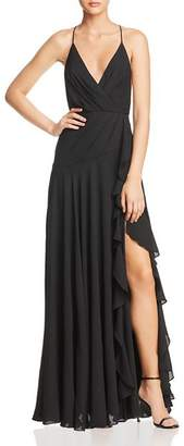 Fame & Partners The Naya Draped Gown