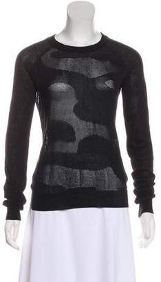 AllSaints Long Sleeve Knit Sweater