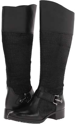 Circa Joan & David Takaraw Wide Shaft Women's Zip Boots
