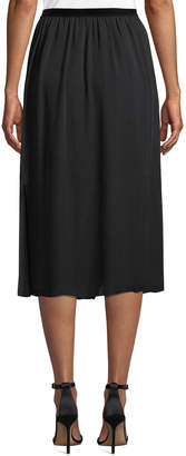 Go Silk Go Carwash Slit-Hem Skirt